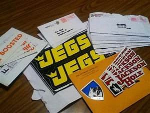 free stickers by mail 15 companies globe kicker dickies With free postage stickers