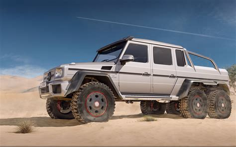 Wallpaper Mercedes Benz G63 Amg 6x6 Six Wheel Drive G