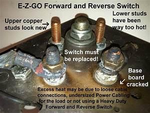 Forward Reverse Switch On Club Car
