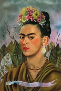 feminist earrings frida kahlo a happy spread