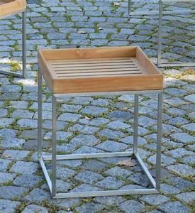 Beistelltisch Garten Holz : beistelltisch garten teak 40x40 cm im greenbop online shop kaufen ~ Indierocktalk.com Haus und Dekorationen