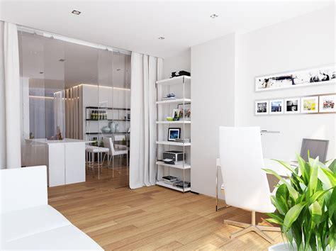 bureau open space trendy home office ideas