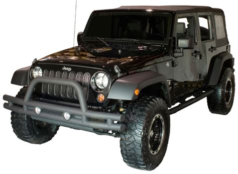 jeep bumper grill jeep wrangler jk front textured black tube bumper with