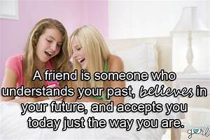 Friendship Quotes For Girls. QuotesGram