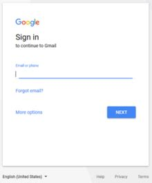 Www Gmail Login Home Page by Gmail Interface