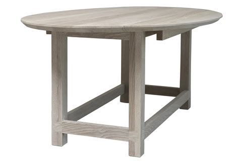 bleached oak dining table bleached oak gate leg dining table or console omero home