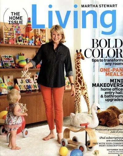 Martha Stewart Living Magazine, September 2012 The Home