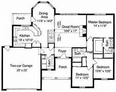 Simple Floor Plans Measurements House  Home Plans Amp Blueprints  41868