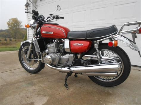 1976 Suzuki Gt750 by 1976 Suzuki Gt750 Waterbuffalo For Sale On 2040 Motos