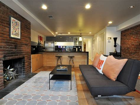 modern english basement apartment  washingtons