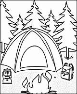 Coloring Camping Pages Tent Printable Getdrawings Rv Sheets Circus Getcolorings Camp Whitesbelfast Safety Colorings Travel Col sketch template