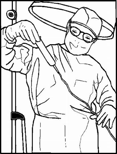 Surgeon Coloring Pages