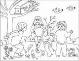 Patio Para Colorear Pintar Dibujosa Dibujos Cuenta Mas Con sketch template