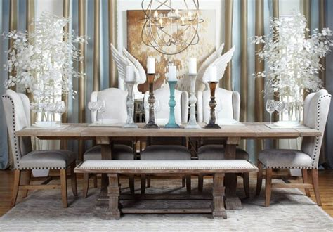 coastal chic dining contemporary dining room by z