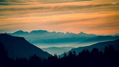 Mountain Range Wallpapers Mountains Nature Desktop Backgrounds