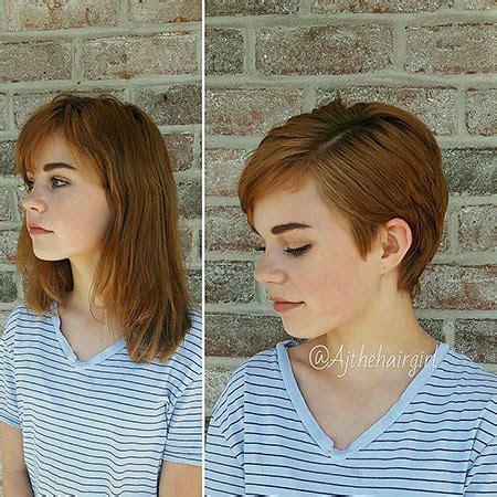 short haircuts   face