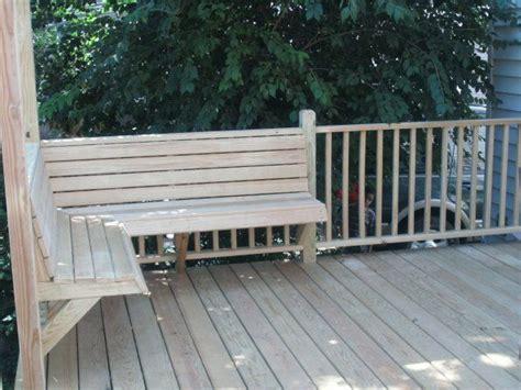 built  deck benches gallery decks deck  corner