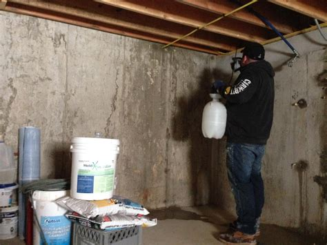 Basement Waterproofing Crack Injection And Mold Removal