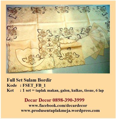 Toko Jual Sarung Bantal Sofa Bordir Surabaya