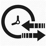 Shift Icon Clock Arrow Icons Editor Open