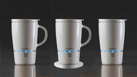 Nano Tech Wireless Heated Mug Will Keep Your Coffee Hot for 45 Minutes   MIKESHOUTS