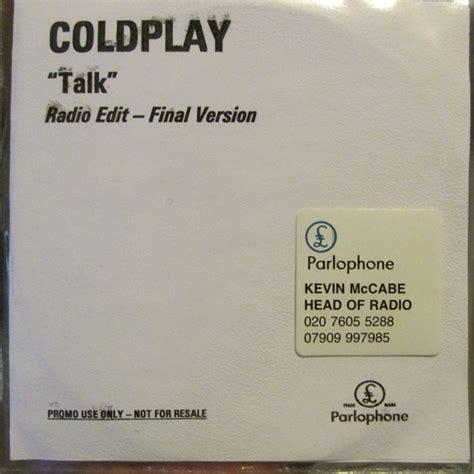 Coldplay Talk Cd Single Promo Discogs