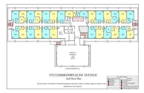 commonwealth ave floor plan housing boston university