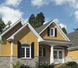 Yellow House Paint Exterior