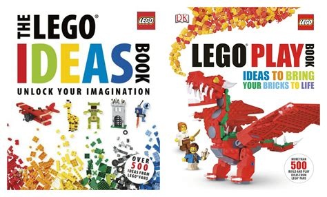 The LEGO Ideas Book & The LEGO Play Book Just $12.49 Each ...