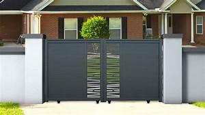 Portail Coulissant Motorisé 4m : portail aluminium coulissant bondi 3 m hauteur 1 6m ~ Dailycaller-alerts.com Idées de Décoration