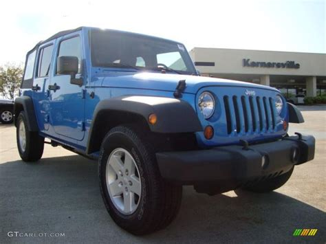 jeep surf 2010 surf blue pearl jeep wrangler unlimited sport