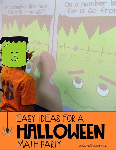 easy ideas   halloween math party  images