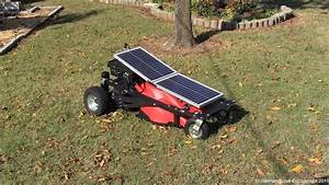 How To Build A Solar Charged Rc Lawn Mower