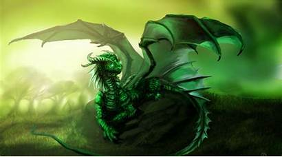Dragon Emerald Dragons Wow Ysera Aube Realm