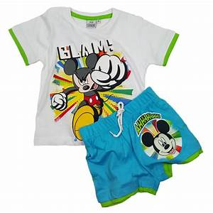 Boys Disney Mickey Mouse clothing set white - EP1502 shop ...