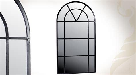 miroir d 233 coratif blanc antique en forme de fen 234 tre