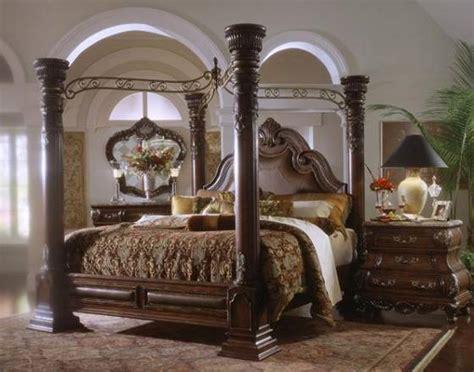 sell margaux cabernet king canopy bedroom set furniture