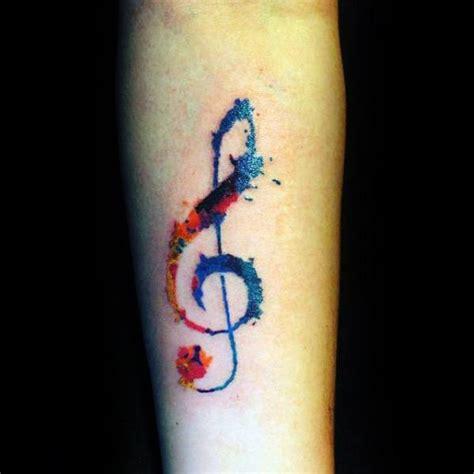 simple  tattoos  men musical ink design ideas