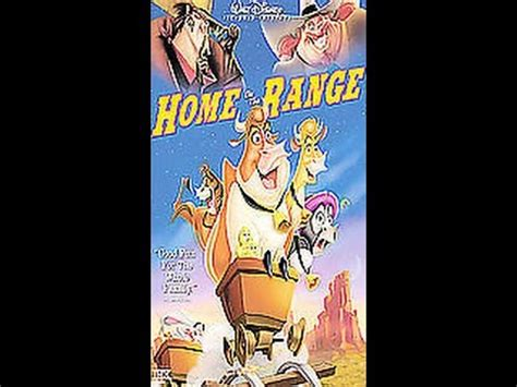Opening To Home On The Range 2004 Vhs Youtube
