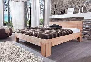 Bett 100 X 180 : holzbett 140 x 200 cm kernbuche massiv sara ~ Bigdaddyawards.com Haus und Dekorationen