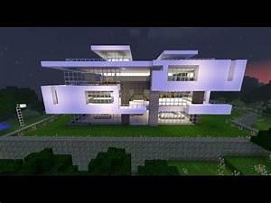 MINECRAFT: Come costruire case moderne in 10 secondi YouTube