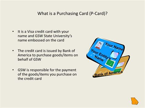 Card — card1 kärd n. PPT - Introduction To Purchasing Card Principles PowerPoint Presentation - ID:6637103