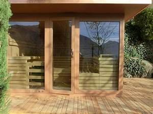 Sauna schaller aussensauna aus sudtirol for Französischer balkon mit finnische sauna für den garten