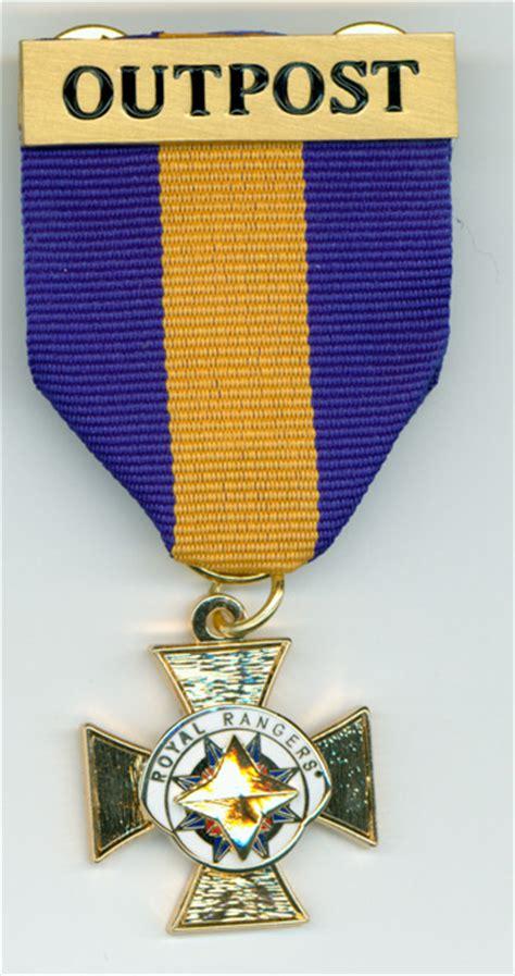 outpost leadership award medal  healthy church