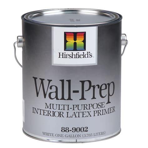 wall prep interior primer hirshfield s