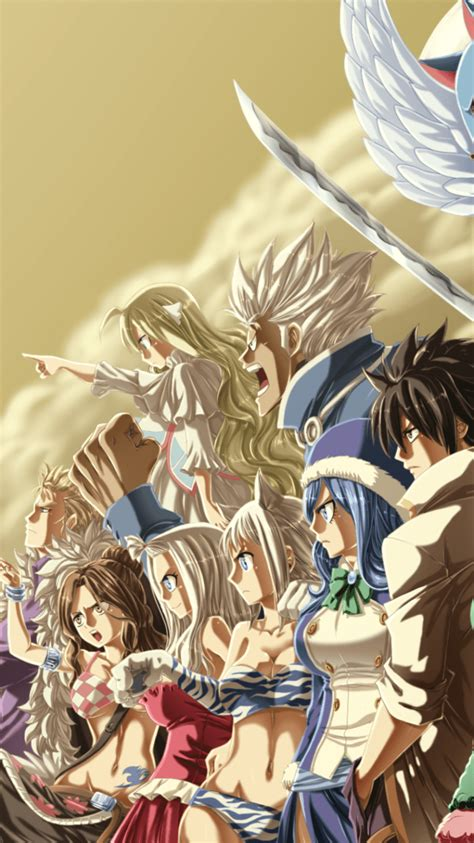 fairy tail phone wallpapers wallpaperaccess