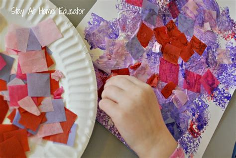 collages stay at home educator 155 | process art in preschool Stay At Home Educator 2000x1340