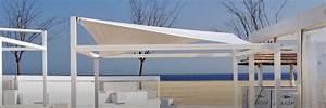 voile d ombrage retractable awesome voile d with voile d With delightful modele de terrasse en bois exterieur 3 pergolas et voiles dombrage