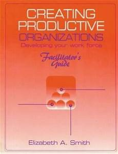 Creating Productive Organizations   Developing Your Work