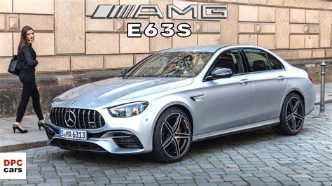 Amg's e63 s wagon is a. 2021 Mercedes AMG E63 S 4MATIC Sedan - YouTube